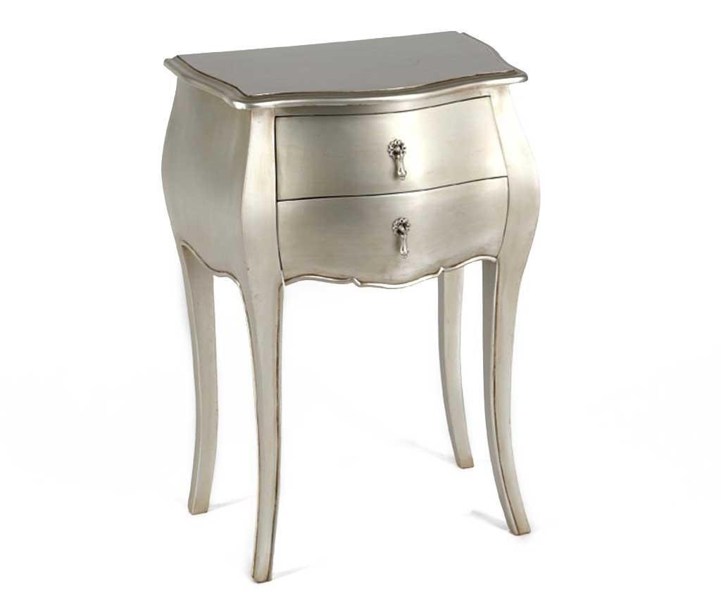 Stolek Murano Light Silver