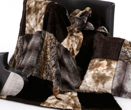 Κουβέρτα Africa Brown 130x170 cm
