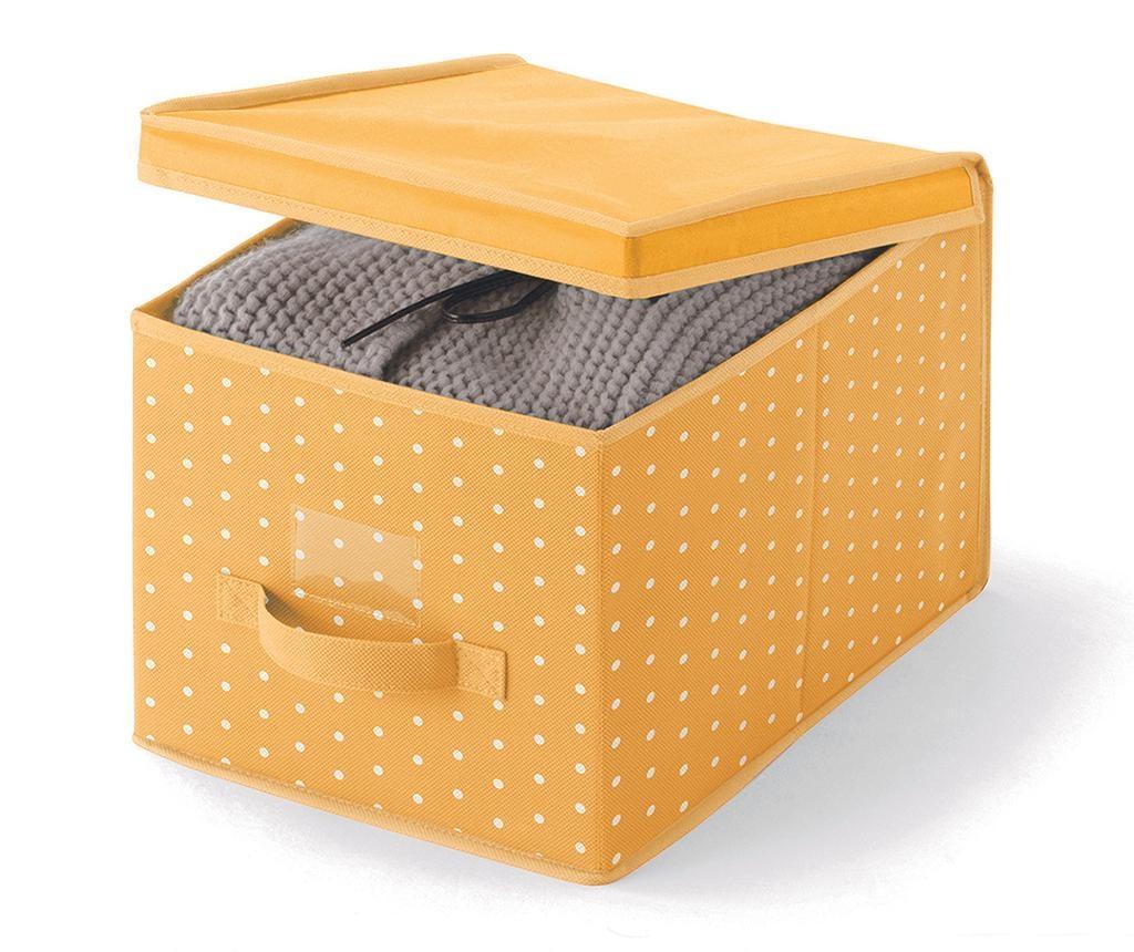 Cutie cu capac pentru depozitare Vintage Orange