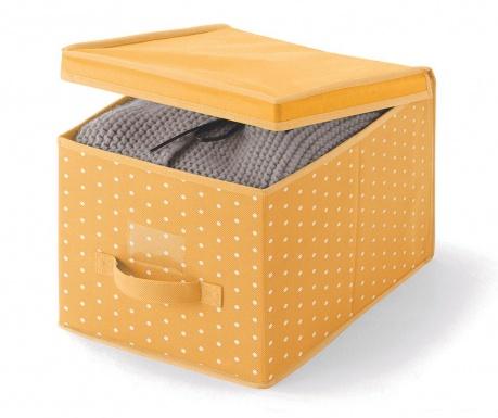 Úložná krabica s vekom Vintage Orange