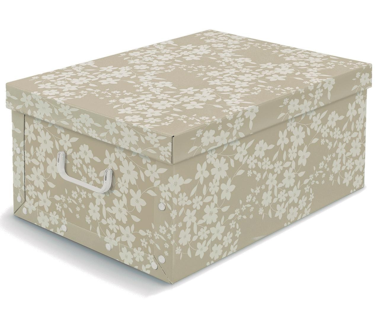 Cutie cu capac pentru depozitare Spring Beige L