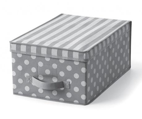 Úložná krabice s víkem Lines&Dots S