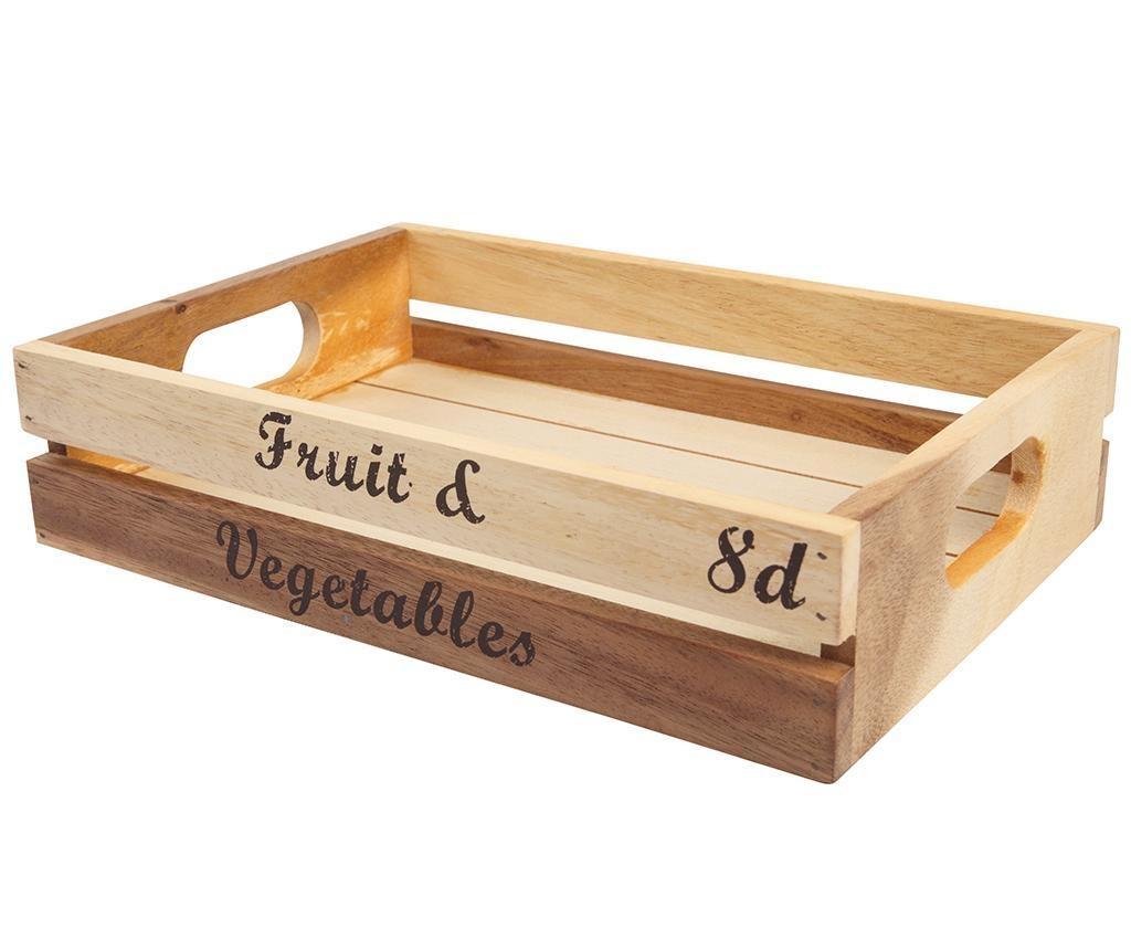 Úložná debna Fruit and Vegetables