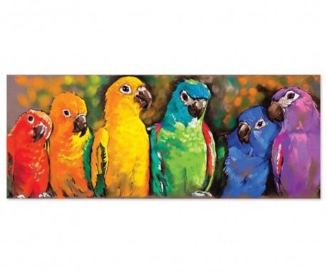 1000-dijelna podna slagalica Rainbow Parrot