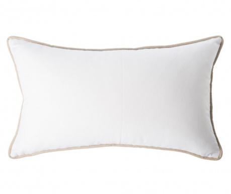 Perna decorativa Vivo White Wide 40x60 cm