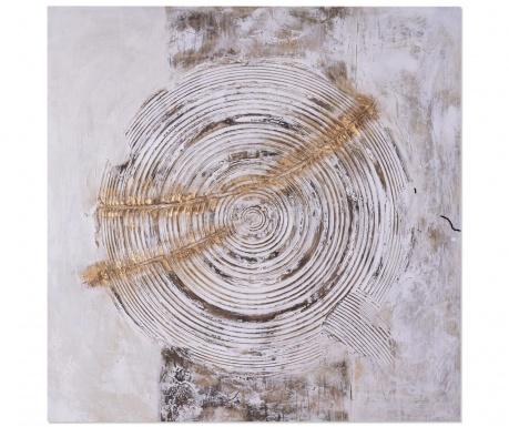 Spiral Festmény 100x100 cm