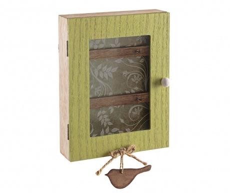 Omarica za ključe Bird Green