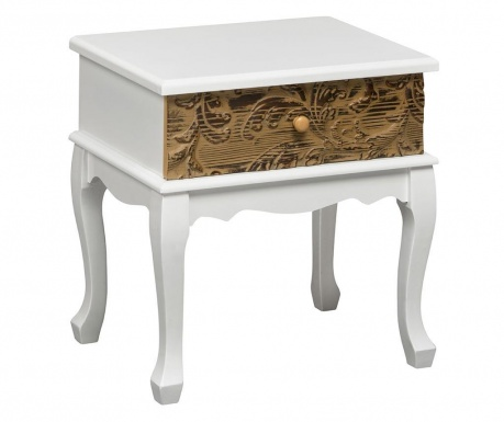 Side table with 1 drawer Bali