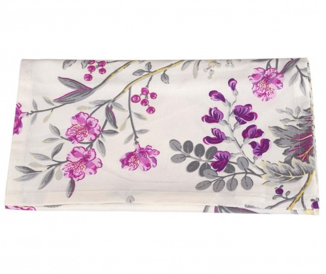 Namizni tekač Bloom Purple 40x170 cm