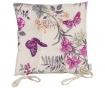 Vankúš na sedenie Purple Butterfly 37x37 cm
