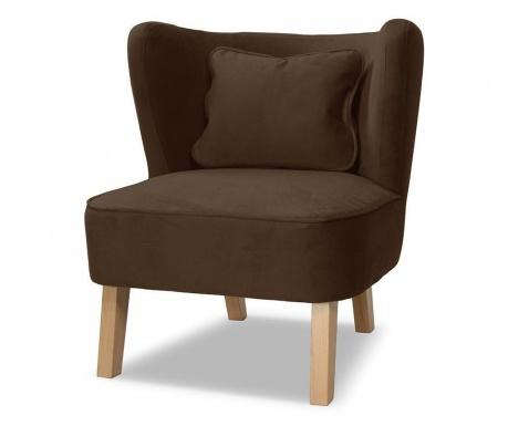 Fotel Organza Brown