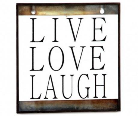 Decoratiune de perete Live Love Laugh