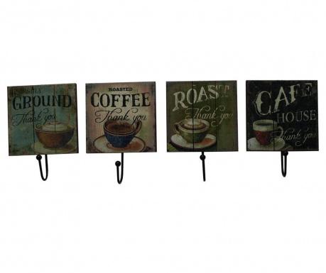 Комплект 4 закачалки Coffee