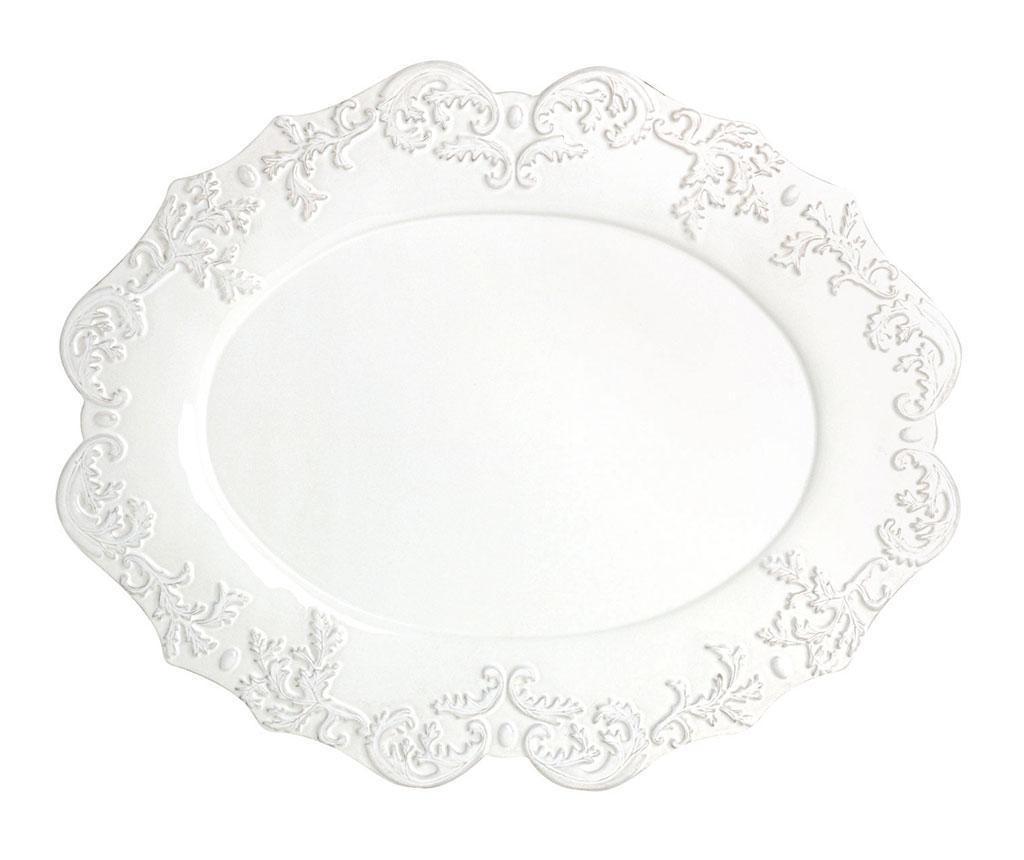 Oval Trianon White Szervírozó tál