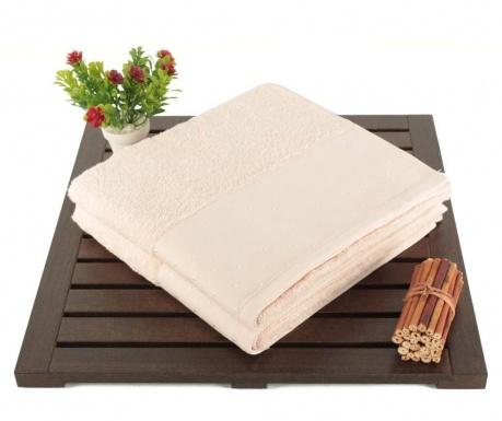 Zestaw 2 ręczników kąpielowych Polka Dots Powder 50x90 cm