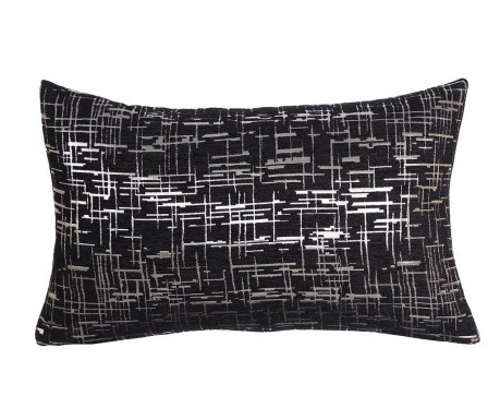 Dekorační polštář Striped Black