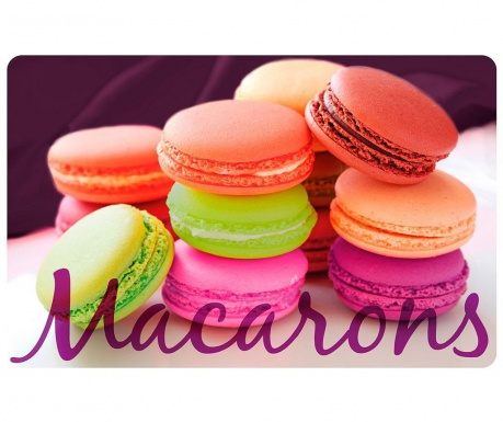 Pogrinjek Macarons 28.5x44 cm