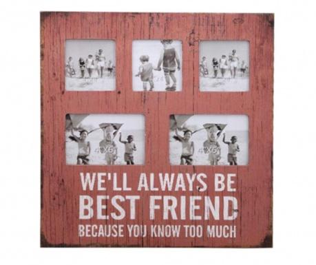 Okvir za 5 fotografij Best Friend