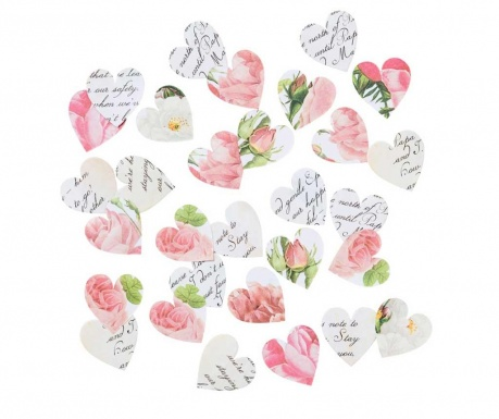 Set 100 dekoracij za mizo Blossom