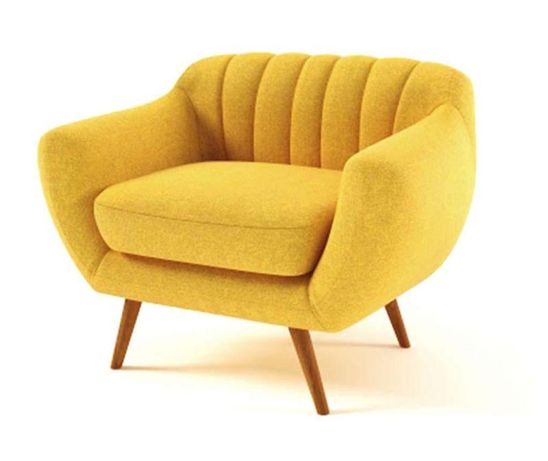 Fotelj Azzure Yellow