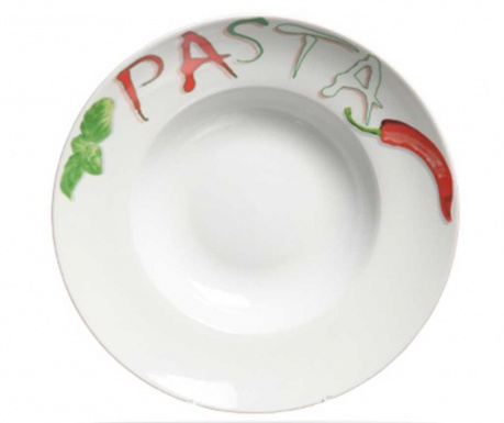 Tanjur za tjesteninu Pepper