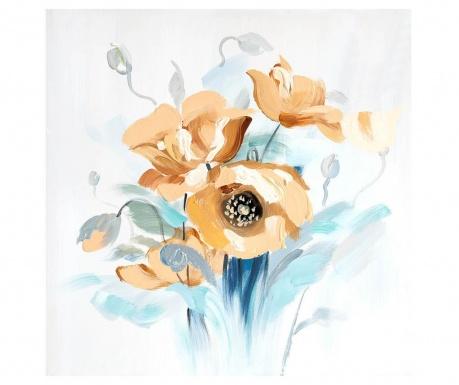 Tablou Poppy Bouquet 60x60 cm