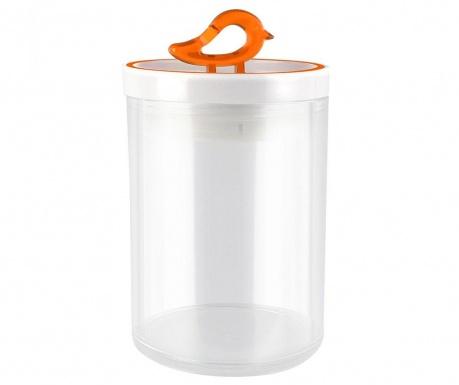 Livio Bird Orange Tároló fedővel 800 ml