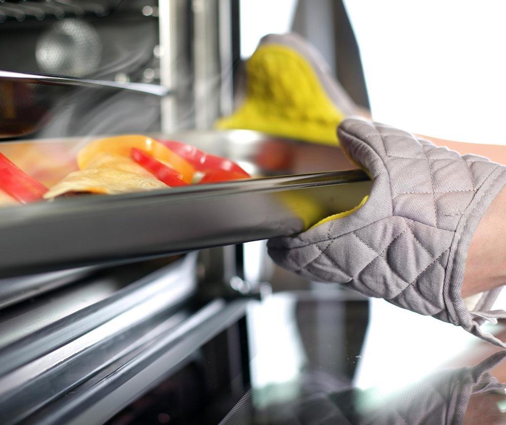 Kuhinjska rukavica Livio Grey Yellow