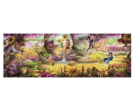 Fairies Forest Fotótapéta 127x368 cm