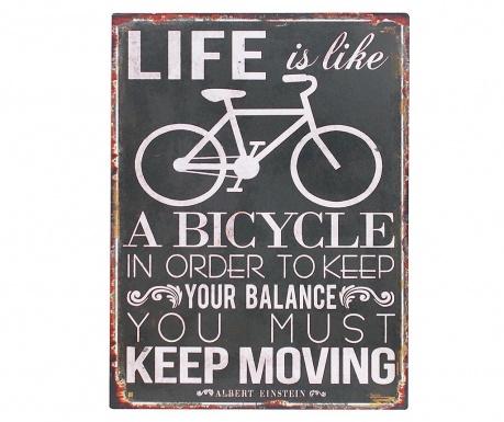 Decoratiune de perete Keep Moving