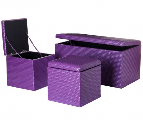 Set - klop in 2 pručki Dorian Lilac
