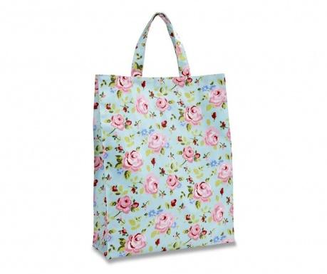 Wodoodporna torba na zakupy Vintage Floral M