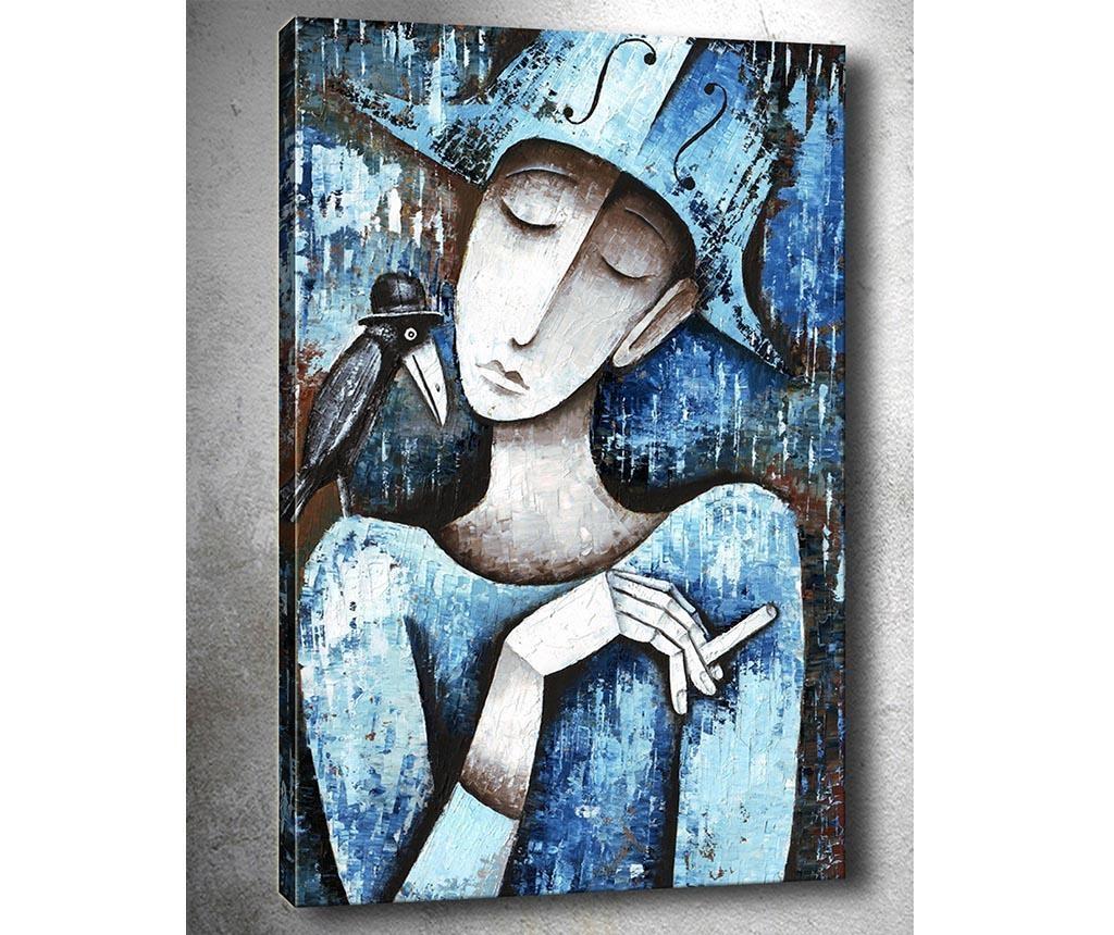 Tablou Smoker 40x60  cm