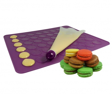 Purple 2 darabos Szett Macarons készítésére
