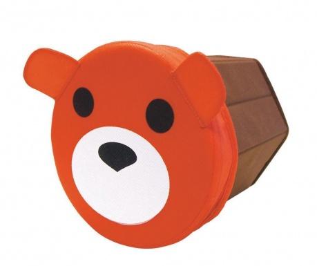 Bear Tárolódoboz fedővel