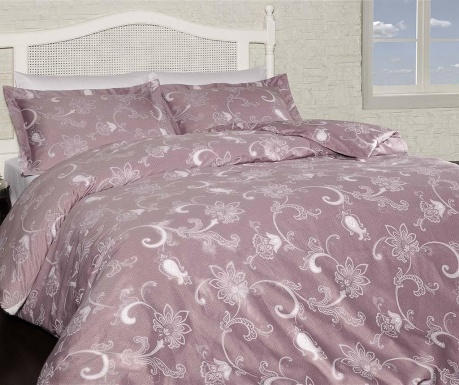 Carmina Pink Egyszemélyes Satin Supreme Ágynemű