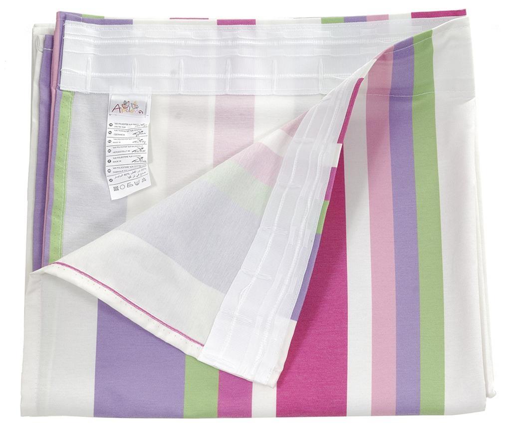 Stripes Purple Pink Sötétítő 140x270 cm