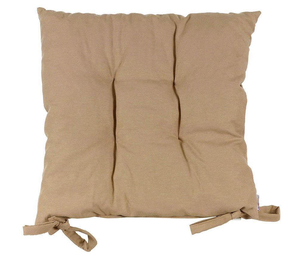 Jastuk za sjedalo Pure Taupe 37x37 cm