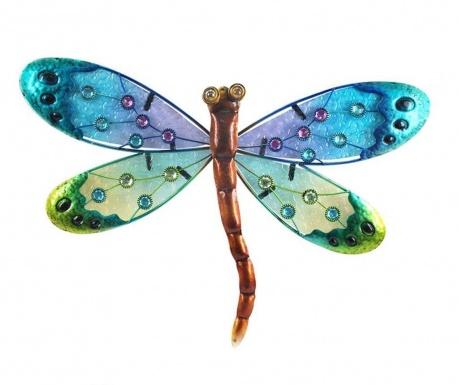 Dragon Fly the Man Blue Fali dekoráció