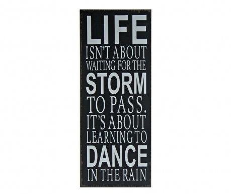 Dance in the Rain Fali dekoráció