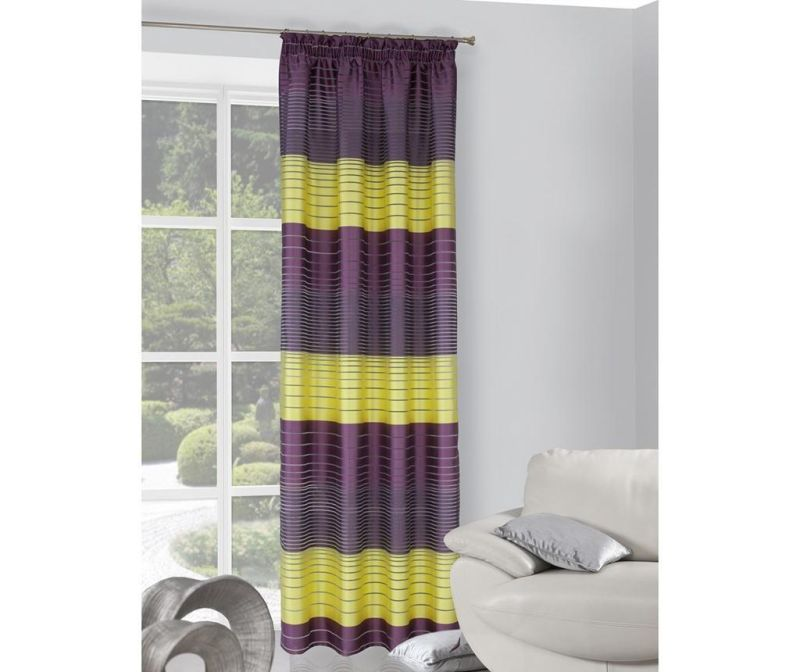 Zastor Erin Dif Violet Yellow 140x250 cm