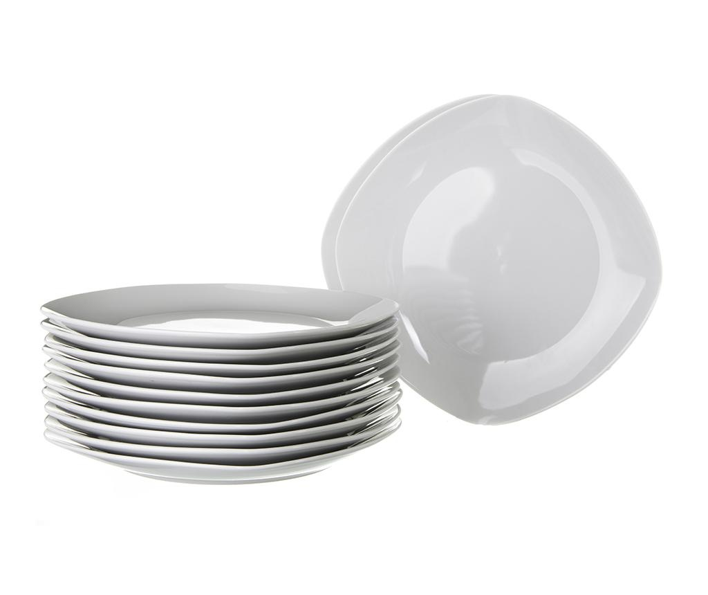 Adams 12 db Desszertes tányér