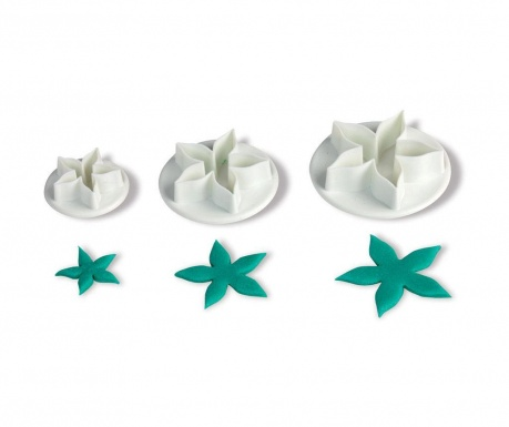 Set 3 decupatoare fondant Starfish
