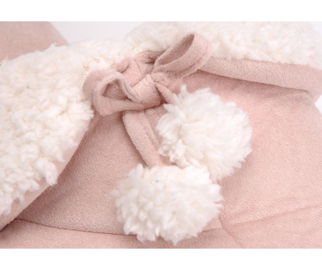 Domácí obuv Pompons Light Pink 39-40