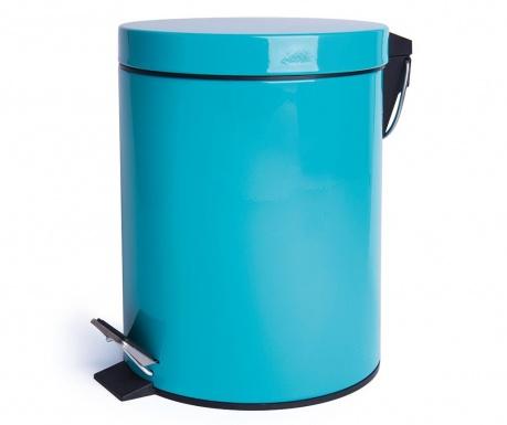 Cos de gunoi cu capac si pedala Complete Light Blue 5 L