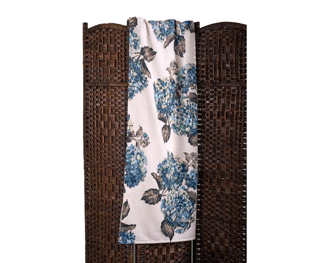 Kopalniška brisača Ortensia Blue 102x146 cm