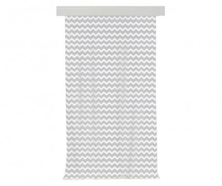 Zasłona Zig Zag Grey 140x270 cm