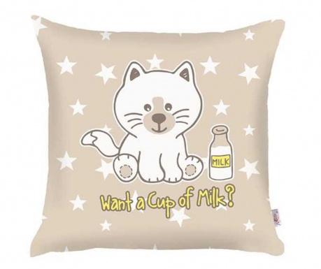 Fata de perna Want a Cup of Milk 35x35 cm