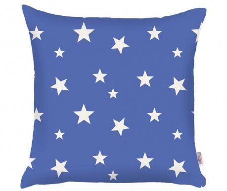 Poszewka na poduszkę Stars Blue 35x35 cm