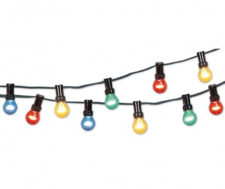 Venkovní světelná girlanda Color Party Light